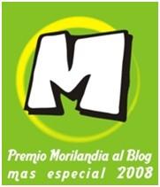 Premio – Morilandia al Blog más especial 2008