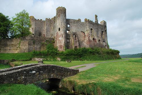 castillo-larugharne