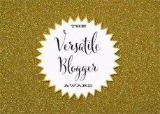 Premio al Blog – The Versatile Blogger Award