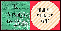 The Versatille Blogger Award (I)