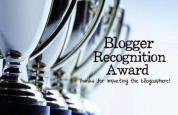 Premio al Blog – Blogger Recognition Award