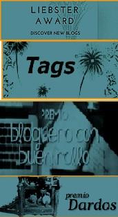 Premios al Blog – Libester Award / TANGS / Bloguera del buen rollo/ Premio Dardos