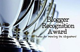 PREMIO AL BLOG – RECOGNITION BLOGUER AWARD III