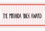 PREMIO AL BLOG – Miranda Sing Award